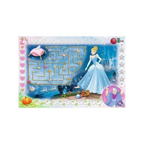 Trefl Disney Princess - Puzzle + Magic Marker 54 Teile Puzzle Trefl-75112