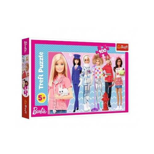 Trefl Barbie 100 Teile Puzzle Trefl-16385