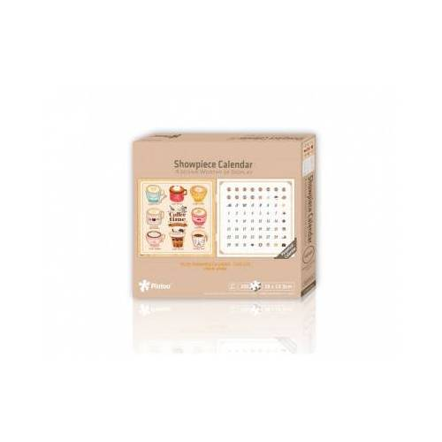 Pintoo Puzzle-Kalender - Coffee Time 200 Teile Puzzle Pintoo-H1707