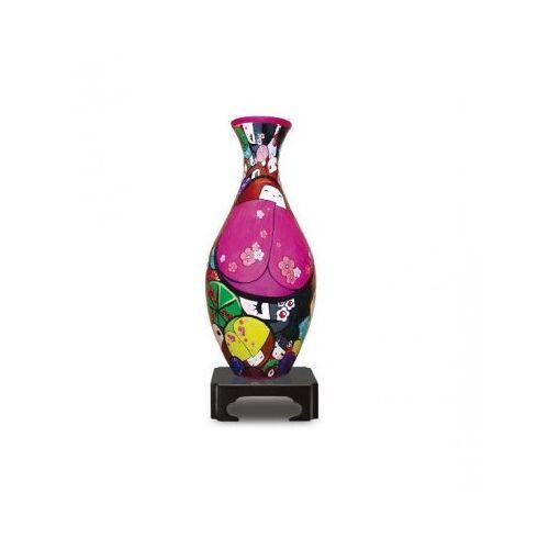 Pintoo 3D Puzzle Vase - Japanische Puppen 160 Teile Puzzle Pintoo-S1010