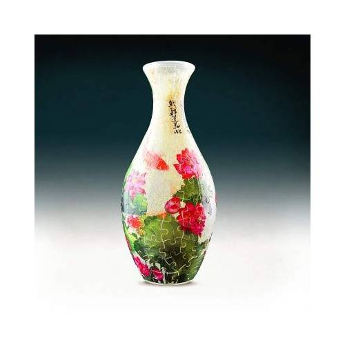 Pintoo 3D Puzzle Vase - Carp with Lotus 160 Teile Puzzle Pintoo-S1024