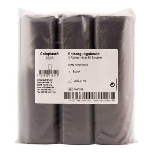 Coloplast Entsorgungsbeutel blau 3 Rol.a.30St.9806