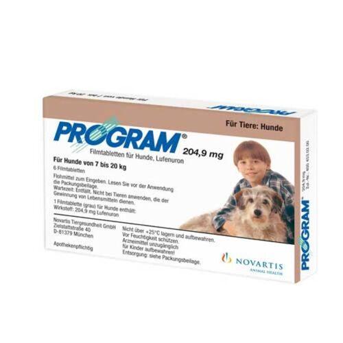 Program Tabletten für Hunde 204,9mg 7 - 20kg