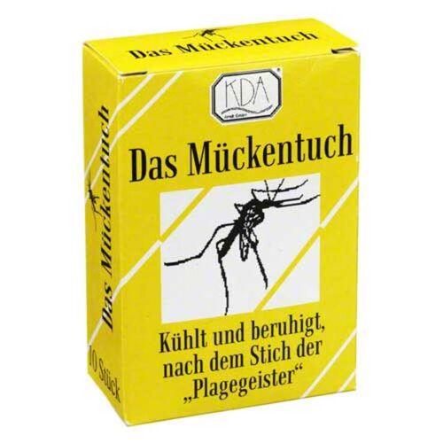 KDA Mückentuch nach dem Stich KDA
