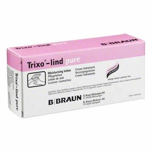 Trixo Lind pure parfümfreie Pflegelotion