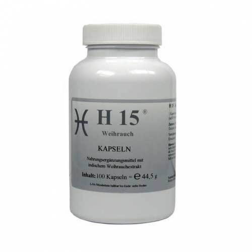 H 15 Weihrauchkapseln 350 mg
