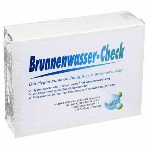 Brunnenwasser Check Test