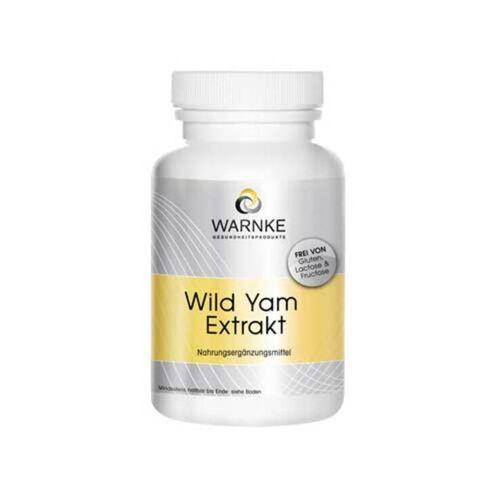 Warnke Wild Yam Extrakt Kapseln