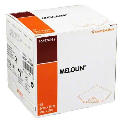 Melolin 5x5cm Wundauflagen s