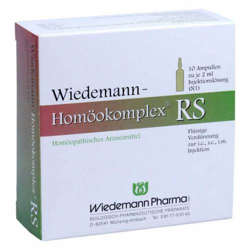 Wiedemann Pharma Wiedemann Homöokomplex RS Ampullen