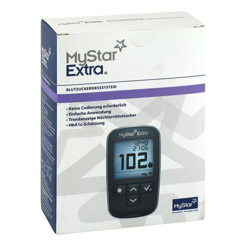 Mystar Extra Blutzuckermessgerät Set mg / dl