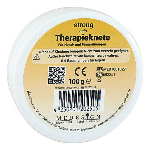Therapieknete strong gelb