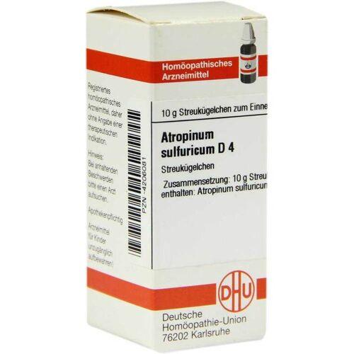 DHU Atropinum sulfuricum D 4 Globuli