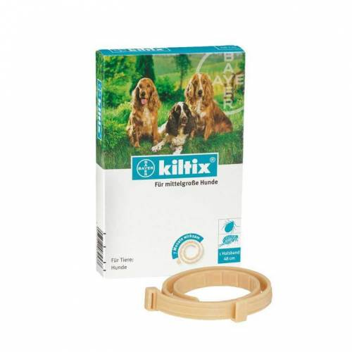 Kiltix für mittelgroße Hunde Halsband