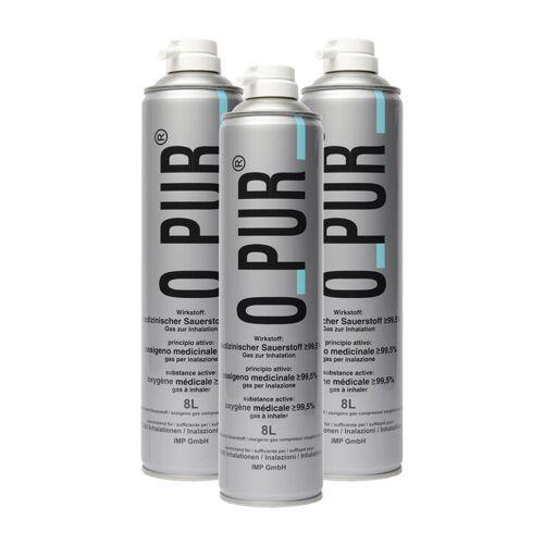 O PUR Sauerstoff Dose für Maske Spray