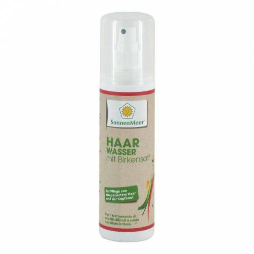 Haarwasser mit Birkensaft Sonnenmoor