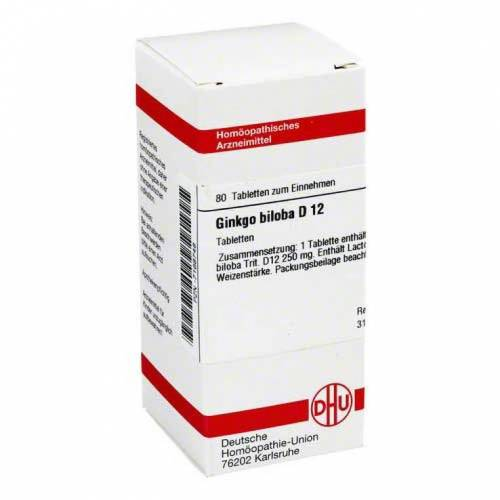 DHU Ginkgo biloba D 12 Tabletten