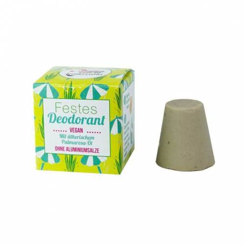 Lamazuna Festes Deodorant mit Palmarosa-Öl