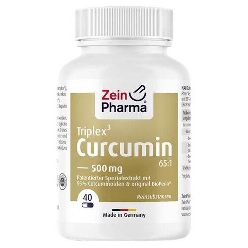 Curcumin-Triplex3 500 mg / Kap.95% Curcumin + Bioperin
