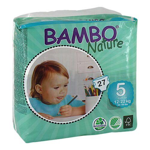 Bambo Nature Junior Babywindel 12 - 22 kg