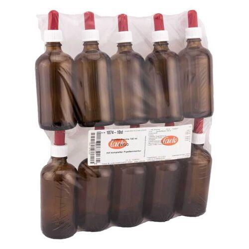 Pipettenflasche 100 ml mit kompl.Pipettenmontur