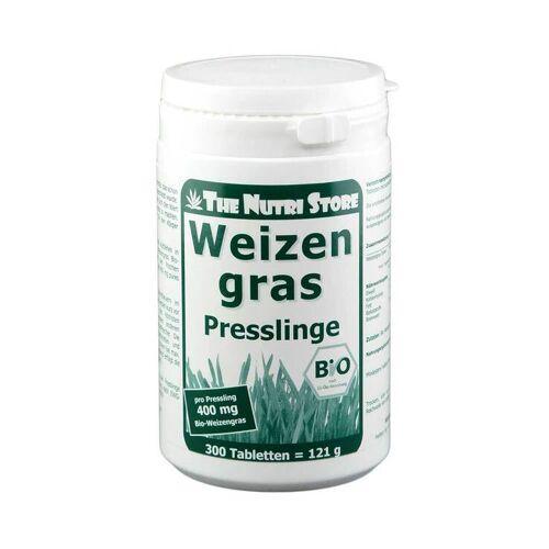 The Nutri Store Weizengras 400 mg Bio Presslinge