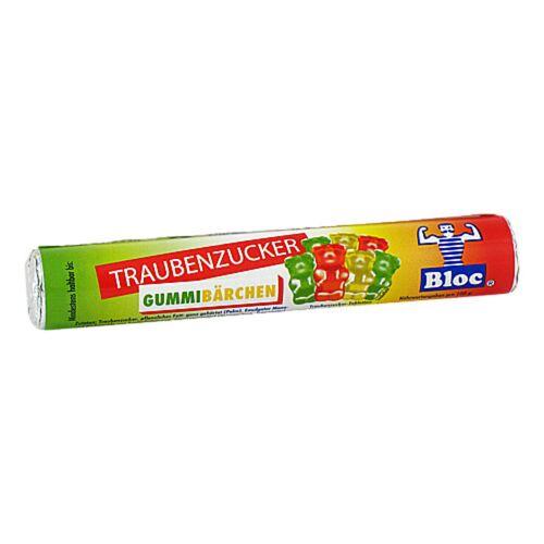 Bloc Traubenzucker Gummibärchen Rolle