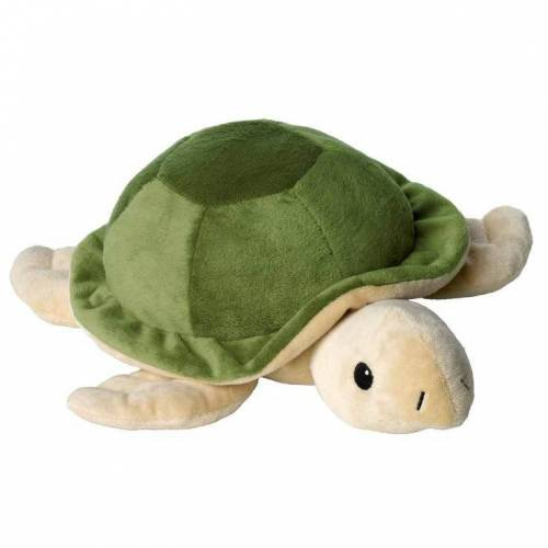 Warmies Beddy Bear Schildkröte hellgrün herausneh.