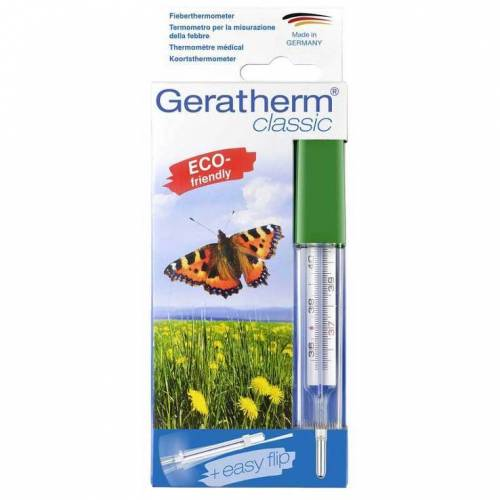 Geratherm classic mit easy flip in Efs Fieberthermometer