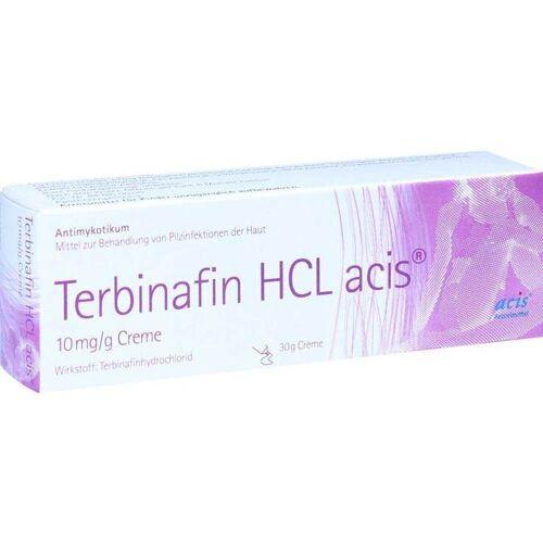 Terbinafin HCL acis 10 mg / g Creme