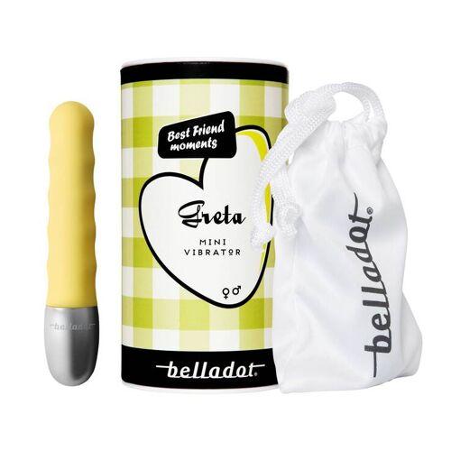 Belladot / Greta Minivibrator gelb