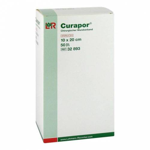 Curapor Wundverband steril chirurgisch 10x20 cm