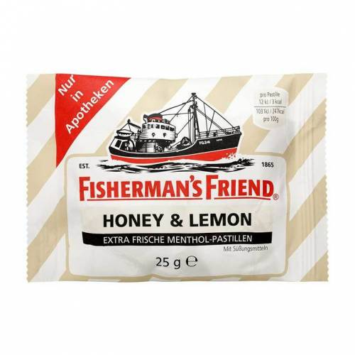 Fishermans Friend Honey & Lemon ohne Zucker Pastillen