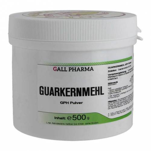 Hecht Pharma Guarkernmehl GPH Pulver