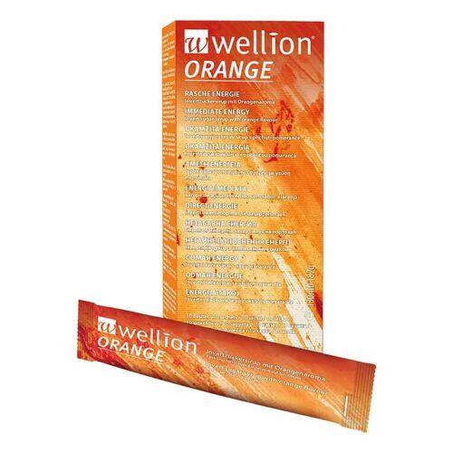 Wellion Orange Invertzuckersirup Beutel
