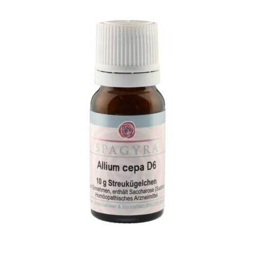 Allium cepa D 6 Globuli