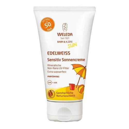 Weleda Edelweiss Sensitiv Sonnencreme LSF 50 Baby & Kids