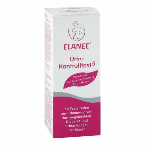 Elanee Urin-Kontrolltest 5