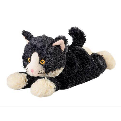 Warmies Katze liegend