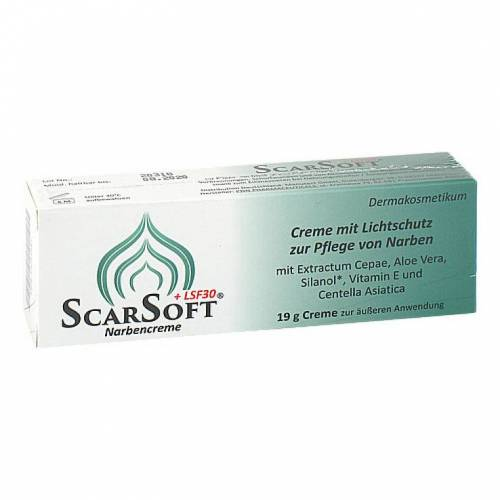 Scarsoft LSF 30 Narben Creme