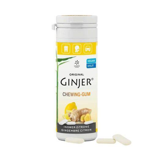 Ingwer Ginjer Kaugummi Zitrone