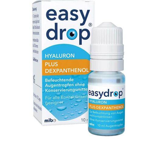 Mibe GmbH Easydrop Hyaluron plus Dexpanthenol Augentropfen