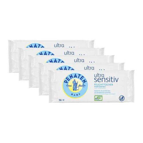 Penaten Ultra sensitiv Feuchttücher 4 + 1