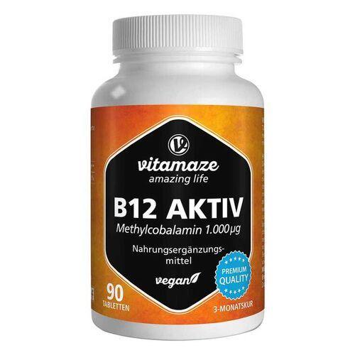 B12 Aktiv 1.000 µg vegan Tabletten