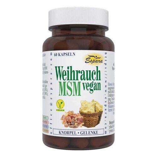Weihrauch MSM vegan Kapseln