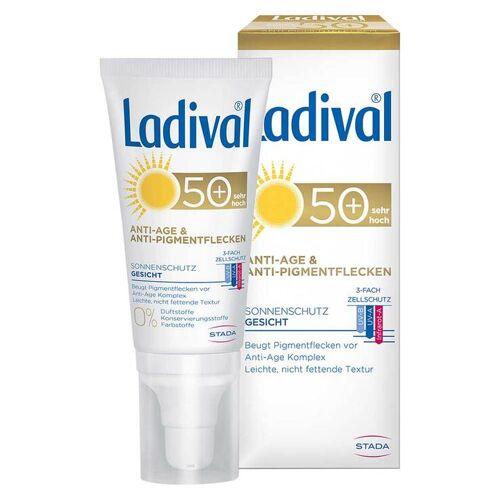 Ladival Sonnenschutz Gesicht Anti-Pigm. Creme LSF 50 +