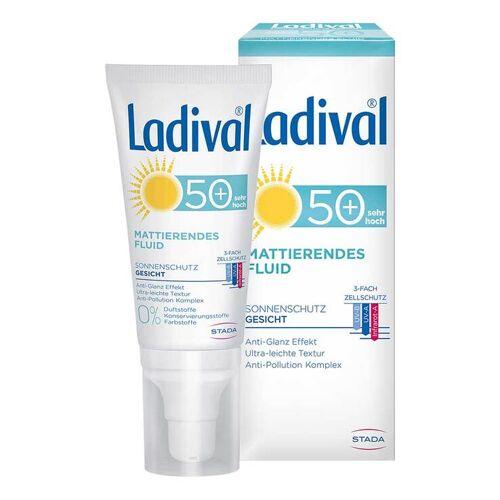 Ladival Sonnenschutz Gesicht Fluid matt.LSF 50 +