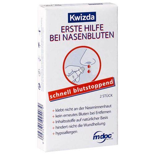 Mdoc Kwizda Erste Hilfe bei Nasenbluten Nasenstöpsel
