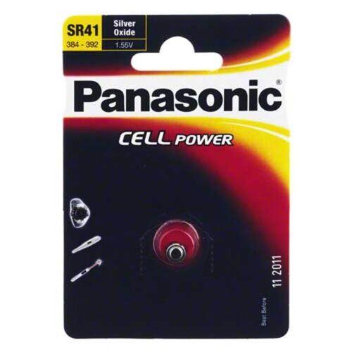 Batterien Knopfzelle SR 41 W