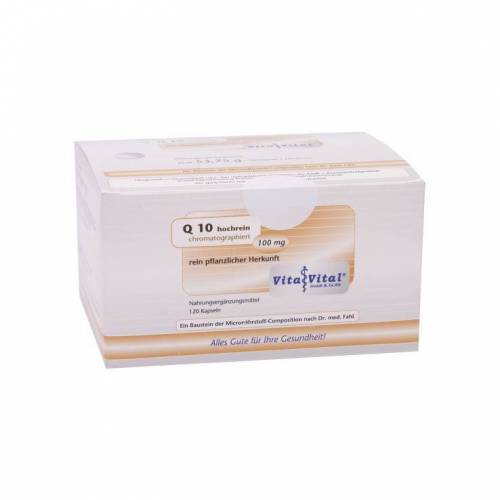 Q10 100 mg hochrein chromatographiert Kapseln